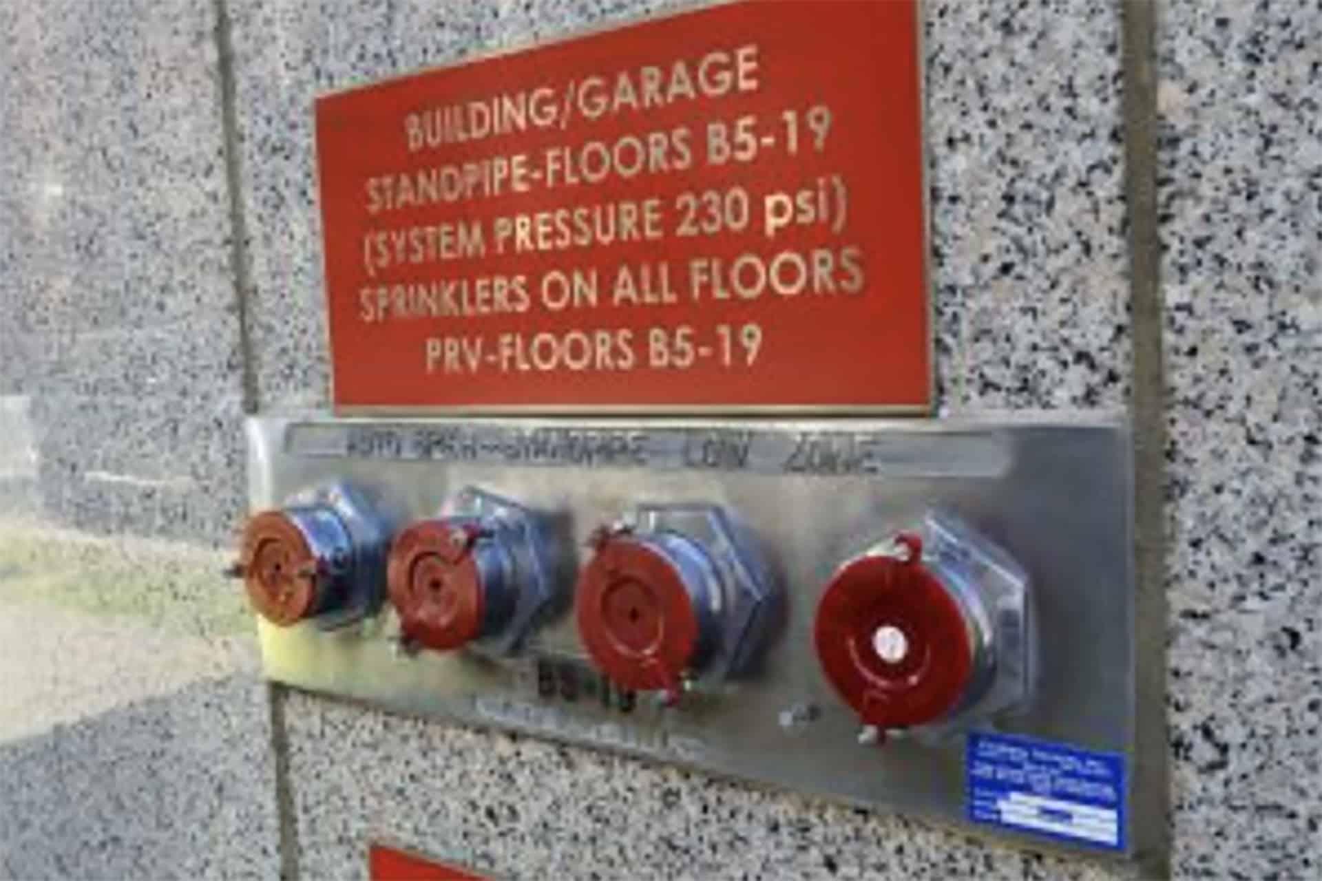 fire alarm sprinkler control panel